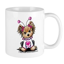 Love Bug Yorkie Mug