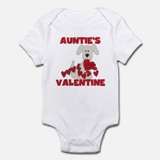 Dog Auntie's Valentine Infant Bodysuit
