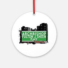 ARCHBISHOP FULTON J SHEEN PLACE, MANHATTAN, NYC Or