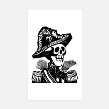 Calavera Porfirista Rectangle Sticker 10 pk)