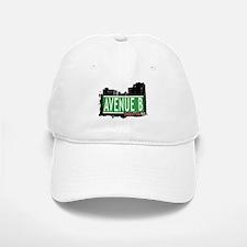 AVENUE B, MANHATTAN, NYC Baseball Baseball Cap