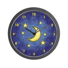 Stars and Moon Clock