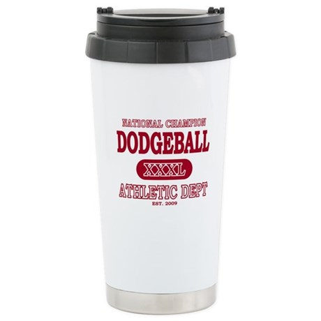 Dodgeball Stainless Steel Travel Mug