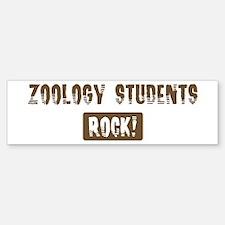 Zoology Students Rocks Bumper Bumper Bumper Sticker