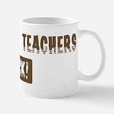 Statistics Teachers Rocks Mug