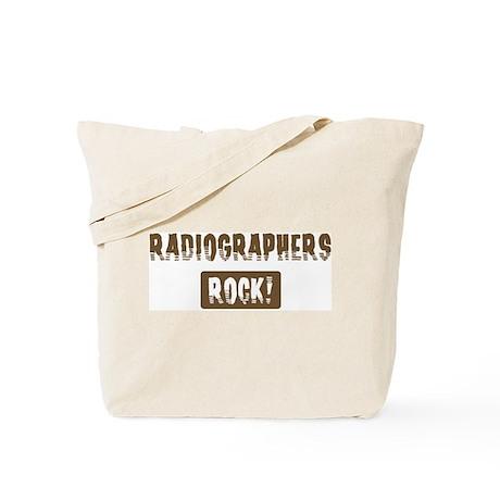 Radiographers Rocks Tote Bag