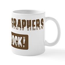 Radiographers Rocks Mug