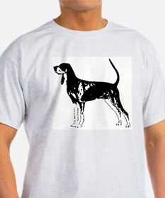 Black and Tan Coonhound Ash Grey T-Shirt