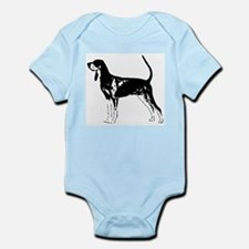 Black and Tan Coonhound Infant Creeper