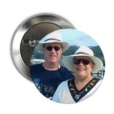 Mom with son & daughters Button
