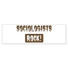 Sociologists Rocks Bumper Bumper Sticker