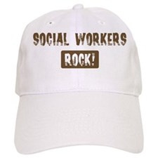 Social Workers Rocks Baseball Cap