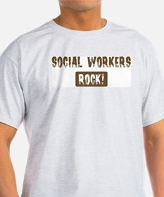 Social Workers Rocks T-Shirt