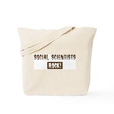 Social Scientists Rocks Tote Bag