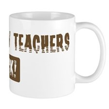 Psychology Teachers Rocks Mug