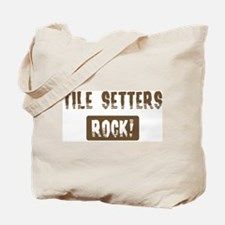 Tile Setters Rocks Tote Bag