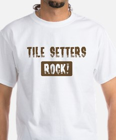 Tile Setters Rocks Shirt