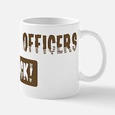 Security Officers Rocks Mug