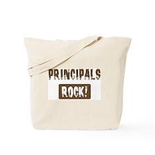 Principals Rocks Tote Bag