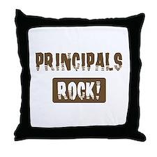 Principals Rocks Throw Pillow