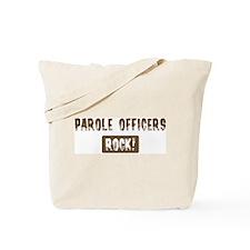 Parole Officers Rocks Tote Bag