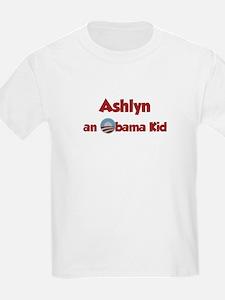 Ashlyn - Obama Kid T-Shirt