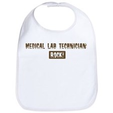 Medical Lab Technicians Rocks Bib