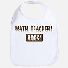 Math Teachers Rocks Bib