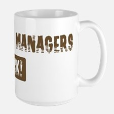 Marketing Managers Rocks Mug