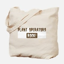 Plant Operators Rocks Tote Bag