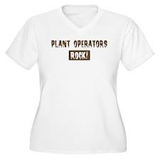 Plant Operators Rocks T-Shirt