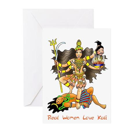 Real Women Love Kali Greeting Cards (Pk of 10)