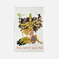 Real Women Love Kali Rectangle Magnet