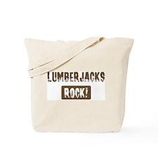 Lumberjacks Rocks Tote Bag