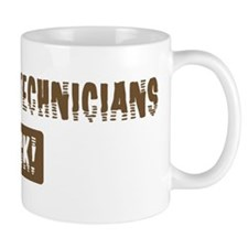 Pharmacy Technicians Rocks Mug