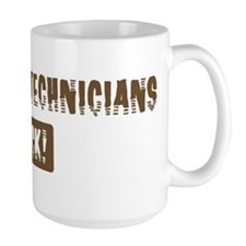Pharmacy Technicians Rocks Mug