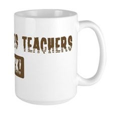 Peace Studies Teachers Rocks Mug