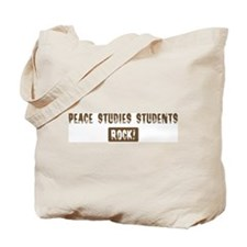 Peace Studies Students Rocks Tote Bag