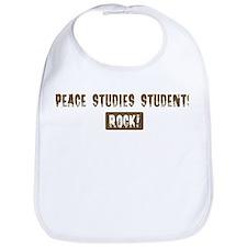 Peace Studies Students Rocks Bib