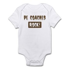 PE Coaches Rocks Infant Bodysuit