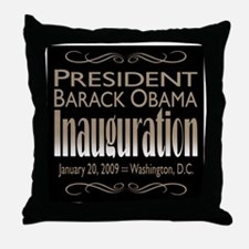 Inauguration Throw Pillow