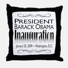 Inauguration Throw Pillow