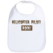 Helicopter Pilots Rocks Bib