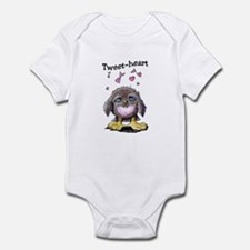 Tweet-heart Bird Infant Bodysuit