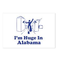 I'm Huge in Alabama Postcards (Package of 8)
