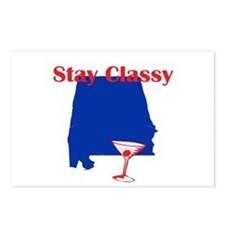 Stay Classy Alabama Postcards (Package of 8)