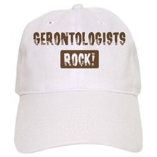 Gerontologists Rocks Baseball Cap