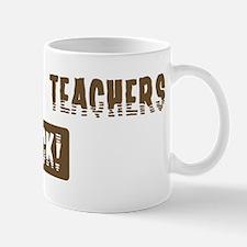 Geography Teachers Rocks Mug