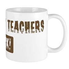 Geography Teachers Rocks Mug