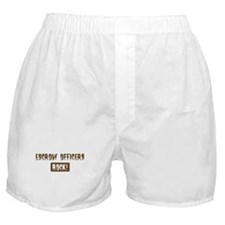 Escrow Officers Rocks Boxer Shorts